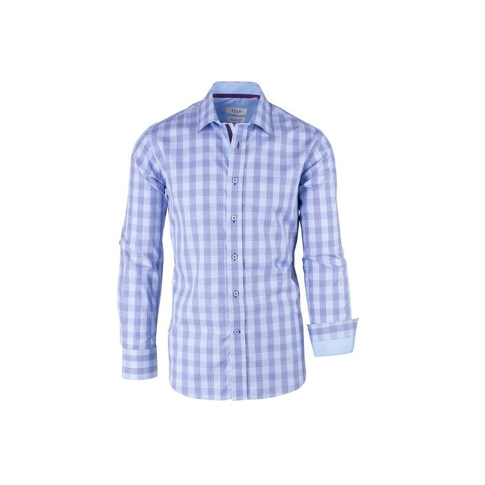 Tiglio Sport Shirt Modern Fit Black White Pattern
