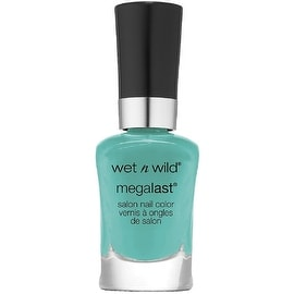 Wet n Wild MegaLast Salon Nail Color, I Need A Refresh-Mint 0.45 oz