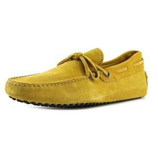 Tod's New Laccetto Occh New Gommini 122 EW Moc Toe Leather Loafer