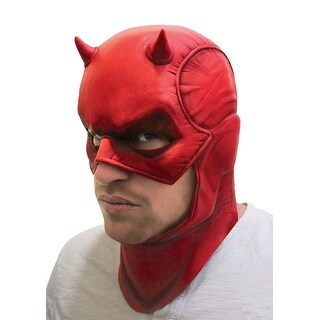 Marvel Universe Daredevil Latex Overhead Mask One Size