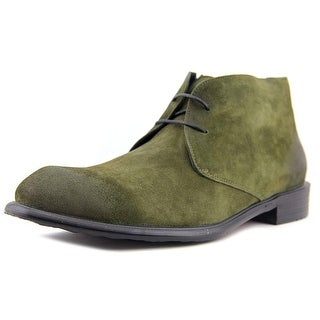 Rock & Republic Rocio Women Round Toe Suede Green Ankle Boot