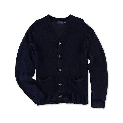 Ralph Lauren Mens Textured Cardigan Sweater