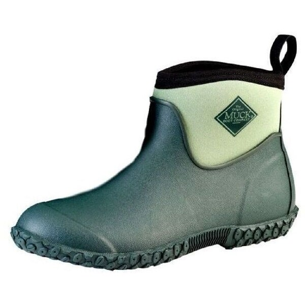 Muck Boots Womens Muckster II Rubber Waterproof Ankle Green M2AW-300