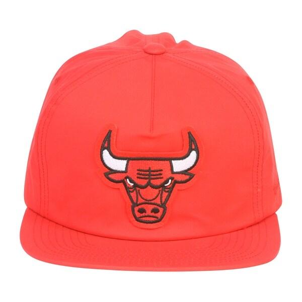 sale retailer c2406 75076 Mitchell  amp  Ness New Chicago Bulls Light Cotton Elastic Back - Red