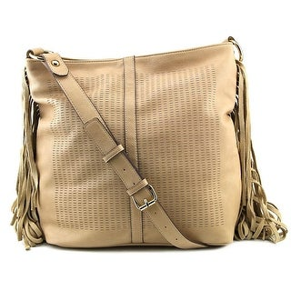 French Connection Sammy Women Synthetic Hobo - Beige