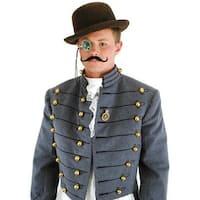 Steampunk Costume Accessory Kit Male - Black