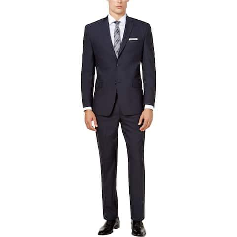 Marc New York Mens Windowpane Tuxedo