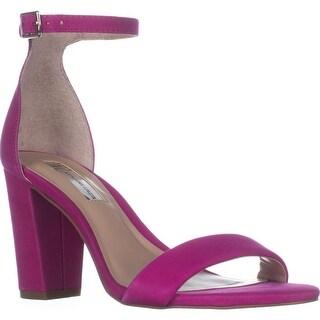 I35 Kivah Ankle Strap Dress Sandals, Deep Fuchsia