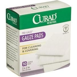 Curad 10Ct 2X2 Pro Gauze