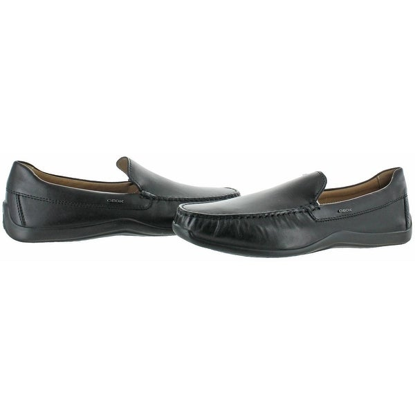 Shop Geox Respira Mens Xense Driving Moccasins Leather