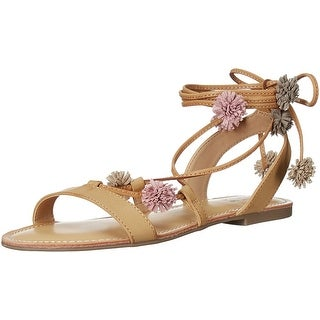 Carlos by Carlos Santana Womens Gia Open Toe Casual Ankle Strap Sandals