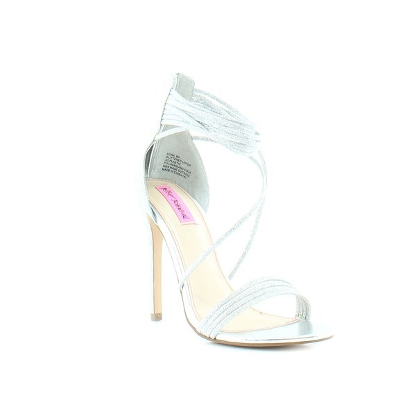 Betsey Johnson Kora Women's Heels Silver
