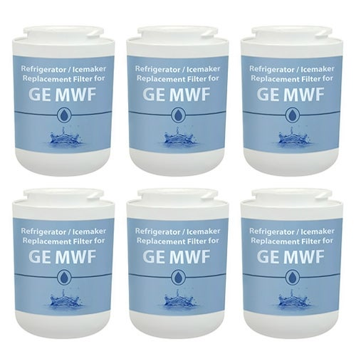Replacement Filter for GE MWF / GWF / WF287 (6 Pack)