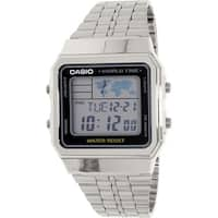 Casio Men's Classic  Silver Stainless-Steel Quartz Dress Watch