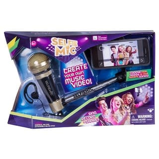 Selfie Mic Music Set|https://ak1.ostkcdn.com/images/products/is/images/direct/8b9ccb7550b94c2c47152522a45eb4872c24a904/Selfie-Mic-Music-Set.jpg?impolicy=medium