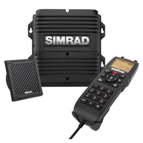 Simrad RS90S VHF Radio Black Box with AIS and Hailer 000-14531-001 Marine VHF Radios