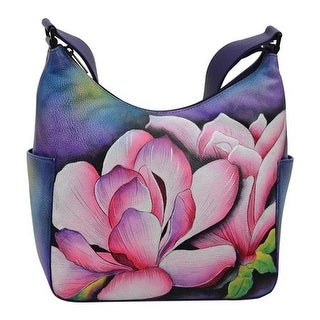 Anuschka Women's Hobo with Side Pocket Magnolia Melody - us women's one size (size none)