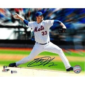 low priced 103c3 9f6ab Matt Harvey signed New York Mets 8x10 Photo Beckett Hologram horizontal