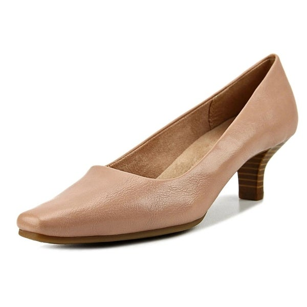 A2 By Aerosoles Dimperial Women W Square Toe Synthetic Nude Heels