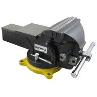 """Olympia 38-647 One Hand Operation Vise, 6"""""""