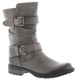 Earth Women's Everwood Mild Calf Boot - Ash Grey