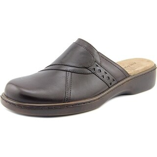 ARRAY Womens Chorus Leather Closed Toe Mules