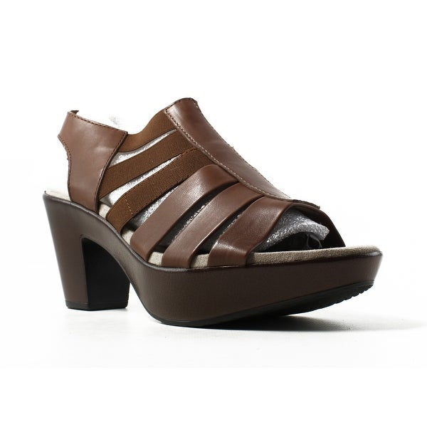 ca8b98e8b15 Shop Munro Womens Cookie Brown Ankle Strap Heels Size 8.5 - Free ...