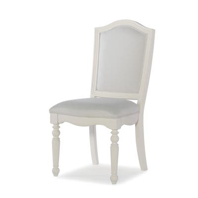 Summerset Upholstered Desk Chair in Ivory