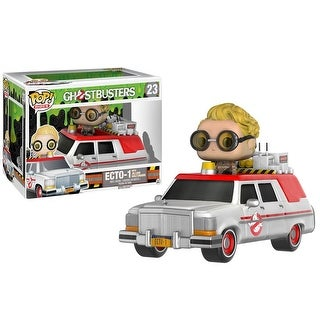 FunKo POP! Rides Ghostbusters 2016 Ecto-1 with Jillian Holtzmann Vinyl Figure