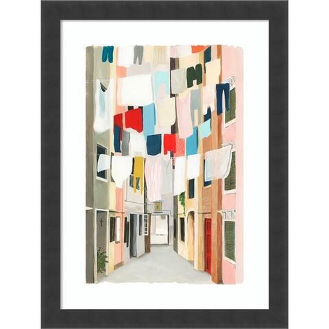 Laundry Day I by Grace Popp Framed Wall Art Print