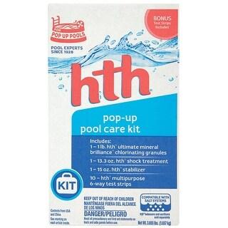 hth 91000 Pop-Up Pool Starter Kit, 2 lbs