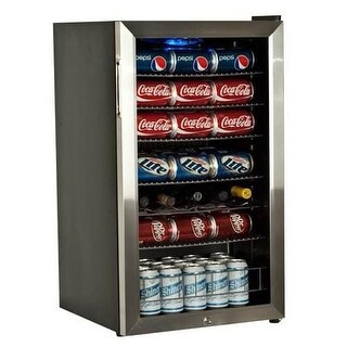 EdgeStar BWC120LT 19 Inch Wide 103 Can and 5 Bottle Beverage Cooler with Ultra Low Temp Cooling