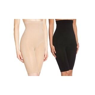 2 Pack of Women's Long Leg Waist Control Body Shaper