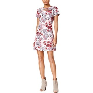 Kensie Womens Casual Dress A-Line Floral Print (2 options available)