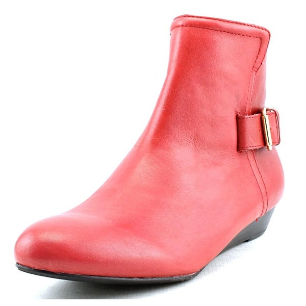 Array Love  N/S Round Toe Leather  Ankle Boot