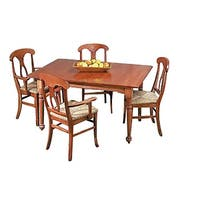 Dining Table Autumn Stain Hardwood Birch Table 56 x 38 | Renovator's Supply
