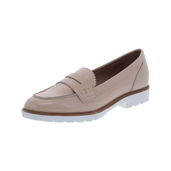 Dune London Womens Gleat Loafers Patent Oxford - 6 medium (b,m)