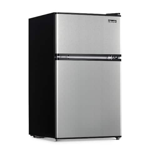 Newair 3.1 Cu. Ft. Black Compact Mini Refrigerator with Freezer, Auto Defrost, Can Dispenser and Energy Star