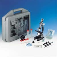 Microscope Set In Carrying Case