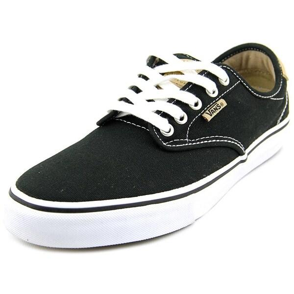 Vans Chima Estate Pro Men Round Toe Canvas Black Sneakers