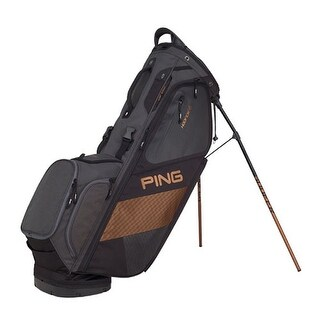 New Ping 2018 Hoofer 14 Golf Stand Bag (Black / Graphite / Copper) - black / graphite / copper