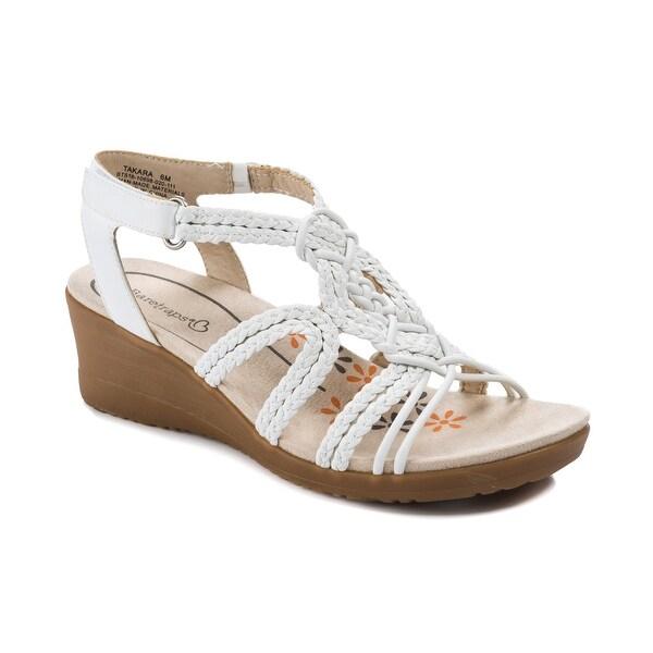 Baretraps Takara Women's Sandals & Flip Flops White