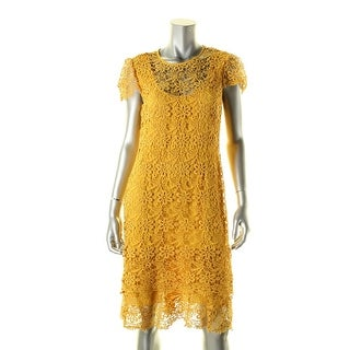 Anne Klein Womens Casual Dress Lace Tiered - 10