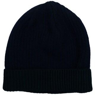 Versace VHB0783 0001 Blue/Green Knitted Beanie Wool Hat