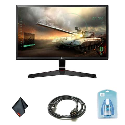 LG 27 Inch 16:9 IPS Gaming Monitor with FreeSync Bundle