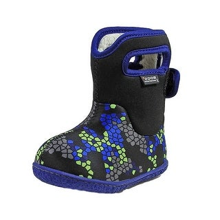 Bogs Outdoor Boot Boy Baby Axel Plush Lining Waterproof Pull On 72170I