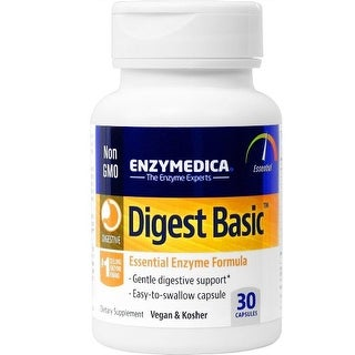 Digest Basic, Essential Digestive Enzymes, 180 Capsules