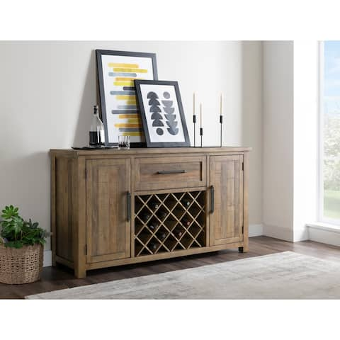 Napa Solid Wood Sideboard Buffet, Reclaimed Natural by Martin Svensson Home