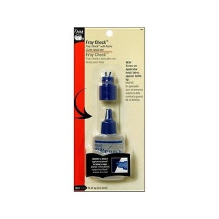 Dritz Fray Check 3/4oz w/Fab Guide Applicator Tip