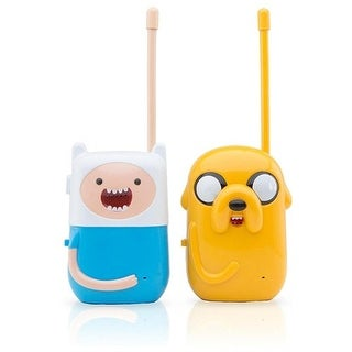 Adventure Time Walkie Talkie With Belt Clip Jake And Finn - multi